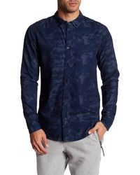 Bench - Monogram Regular Fit Shirt - Lyst