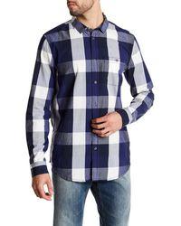 Bench - Button Up Plaid Shirt - Lyst
