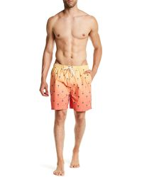 Dockers - Palm Sunset Swim Trunk - Lyst