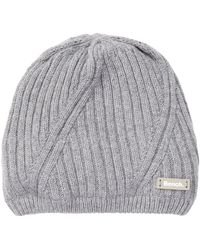 Bench - Storm Cloud Marled Knit Beanie - Lyst