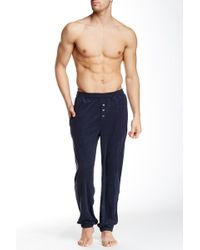 Bread & Boxers - Button Fly Jogger - Lyst