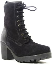 Chelsea Crew - Bond Suede Lace-up Boot - Lyst
