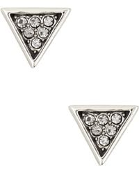 House of Harlow 1960 - Electrum Pave Earrings - Lyst