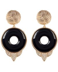House of Harlow 1960 - Drop Rostron Stone Statement Earrings - Lyst