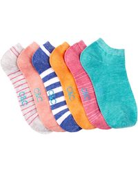 C&C California - Non Terry No Show Socks - Pack Of 6 - Lyst