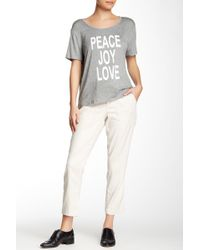 CJ by Cookie Johnson - Linen Blend Relaxed Pant - Lyst