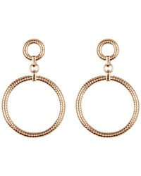 Vince Camuto - Circle Drop Earrings - Lyst