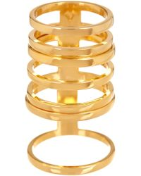 Vince Camuto - Open Bar Ring Set - Lyst
