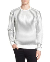 Calibrate - Stripe Crewneck Sweatshirt - Lyst