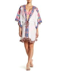 Calypso St. Barth - Lirida Tassel Fringe Cover-up - Lyst
