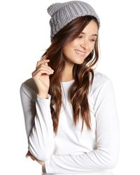 Cole Haan - Extra Chunky Knit Beanie - Lyst
