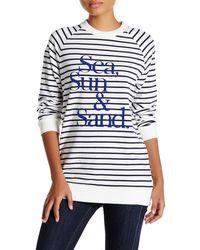 Chrldr - Nautical Crew Neck Sweater - Lyst
