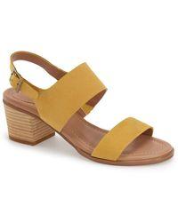 Caslon - (r) 'carden' Block Heel Slingback Sandal (women) - Lyst