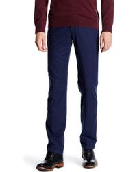 "Thomas Dean - Neat Stretch Pant - 30-34"" Inseam - Lyst"
