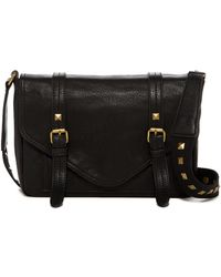 Carlos By Carlos Santana - Ryan Flap Double Buckle Crossbody - Lyst