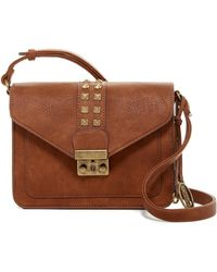 Carlos By Carlos Santana - Serena Structured Flap Crossbody - Lyst
