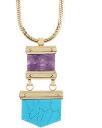 CC SKYE - Santa Fe Sunset Necklace - Lyst