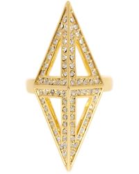 CC SKYE - Fortress Ring - Size 7 - Lyst