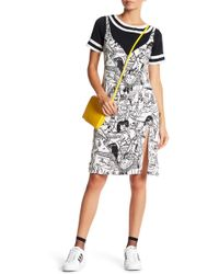Betty and Veronica by Rachel Antonoff - Comic Print Twofer Dress - Lyst