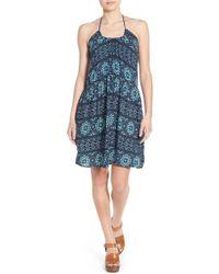 Mimi Chica - Print Halter Dress - Lyst
