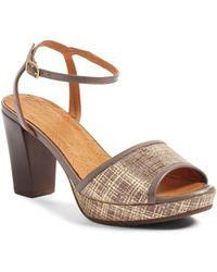 chie mihara deko sandal | lyst - Deko Taupe