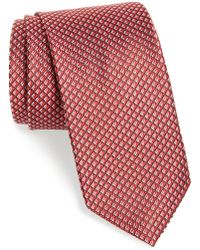 JZ Richards - Geometric Silk Tie - Lyst