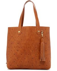 Steven by Steve Madden - Hole Punch Tote - Lyst