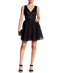 Ark & Co. - Sequined Bodice Back Cutout Dress - Lyst
