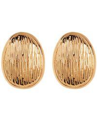 Simon Sebbag - 24k Gold Plated Clip On Drop Earrings - Lyst