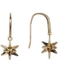 Melinda Maria - 3-d Starburst Drop Earrings - Lyst
