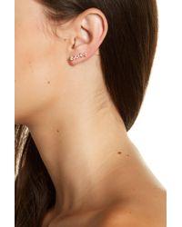 Melinda Maria - Tracey Cz Ear Crawlers - Lyst