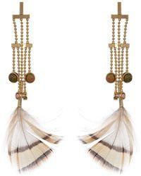 Danielle Nicole - Birds Of A Feather Drop Earrings - Lyst