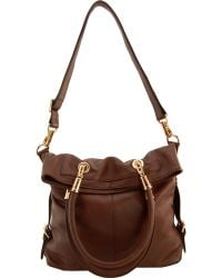 Erica Anenberg - Sutton Leather Crossbody Tote - Lyst