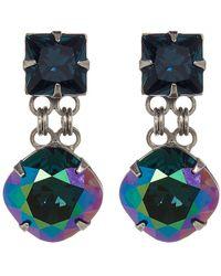 Sorrelli - Bold Crystal Drop Earrings - Lyst