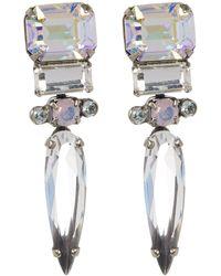 Sorrelli - Spiked Crystal Drop Earrings - Lyst