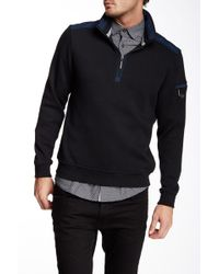 English Laundry - Zip Solid Sweater - Lyst
