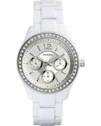 Fossil - Women's Stella Bracelet Watch - Lyst