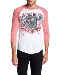 Flag & Anthem - Native Flags Raglan Tee - Lyst