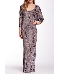 Fraiche By J - Dolman Sleeve Maxi Dress - Lyst