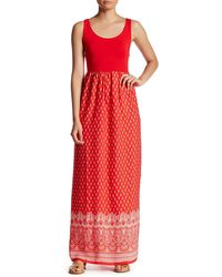 Fraiche By J - Mika Cutout Maxi Dress - Lyst