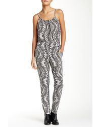 Fraiche By J - Printed Jumpsuit - Lyst