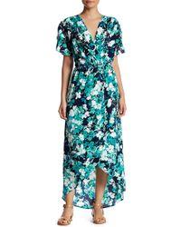 Fraiche By J - Ava Flutter Sleeve Tulip Dress - Lyst