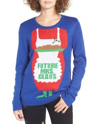 Love By Design - Future Mrs. Claus Christmas Sweater - Lyst