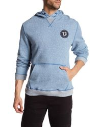 STONEFEATHER - French Terry Logo Hoodie - Lyst