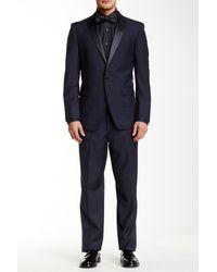 U.S. POLO ASSN. | Navy One Button Notch Lapel Modern Fit Tuxedo | Lyst