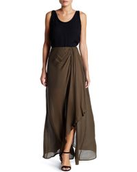 Dress Forum - Draped Maxi Skirt - Lyst