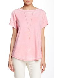 Freeloader - Boxy Burnout Tee - Lyst