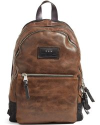 John Varvatos | Gibson Suede Backpack | Lyst