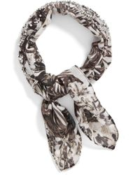 BCBGMAXAZRIA - Tropical Rolled Neckerchief - Lyst