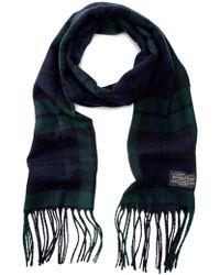 Pendleton - Plaid Wool Scarf - Lyst